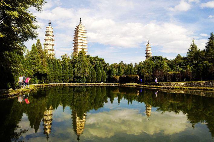 dali drei pagoden