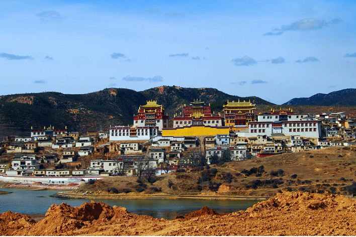 shanghi-la monastery