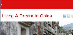 Living a dream in China