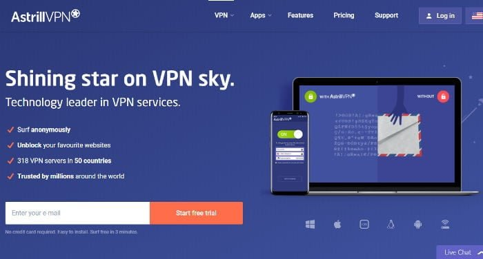 Astrill VPN Beurteilung