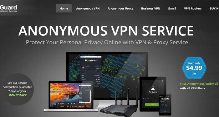 TorGuard VPN Beurteilung